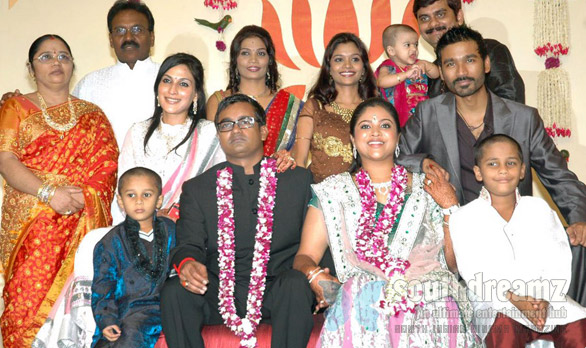 Selvaraghavan Geethanjali Wedding Reception 2 Kalaignar, Stalin makes it for Selvaraghavan