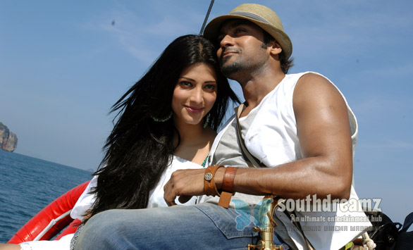 7am arivu surya shruti hassan love making photos 21 7am Arivu is literally the 7th Sense