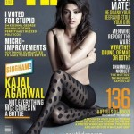 Kajal Agarwal goes topless for FHM