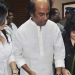 Rajnikanth is absent