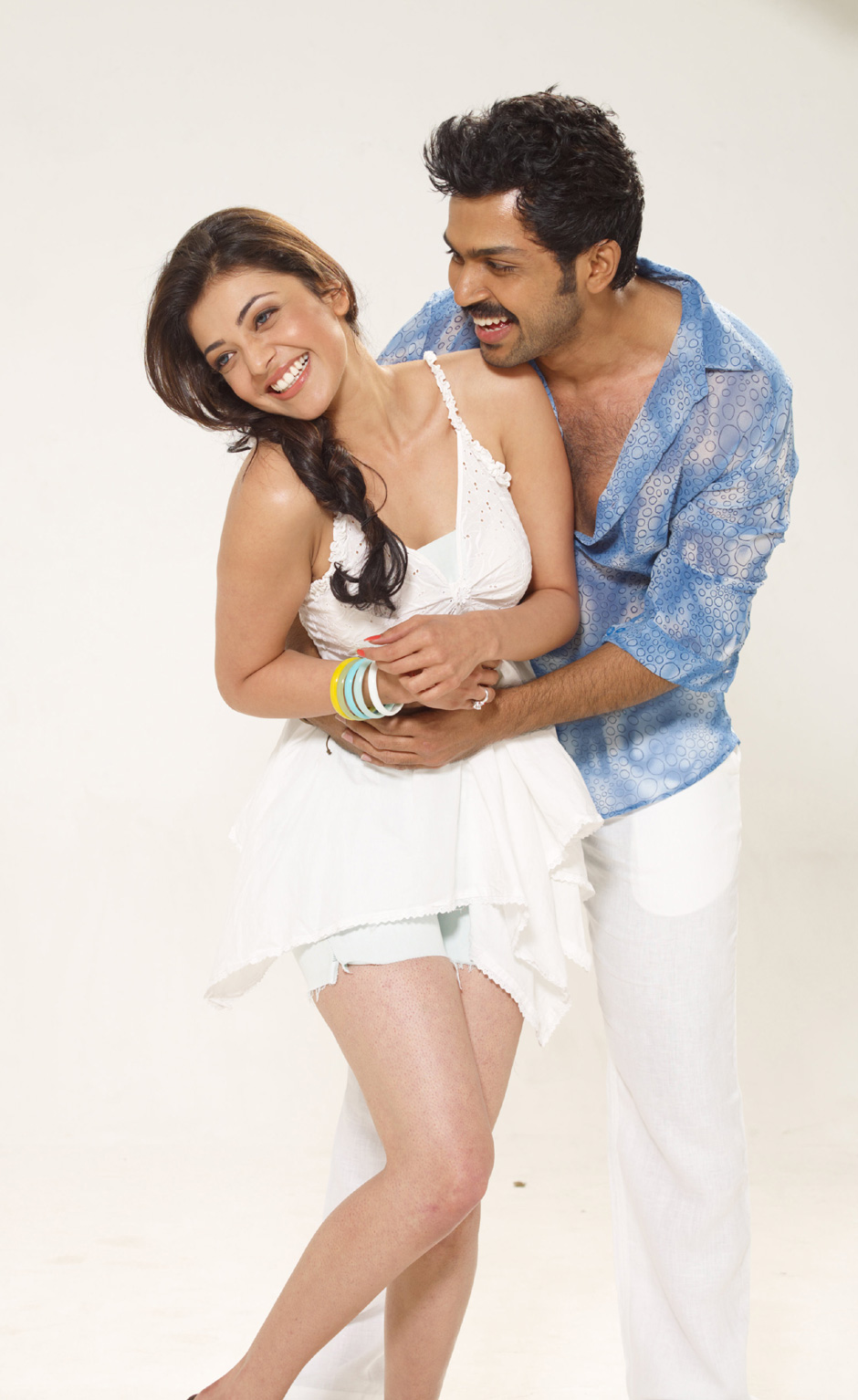 Kajal teams up with Younger Brother for third time - Photos Inside