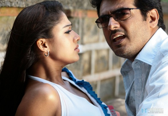 aegan ajith nayantara love making stills 9 586x405 Ajith   Few get personal & comment that Im fat