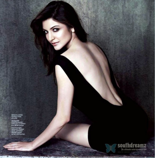 Anushka Sharma Maxim July 2011 4 586x599 Anushka Sharma vs Deepika Padukone for Salman Khans Kick!