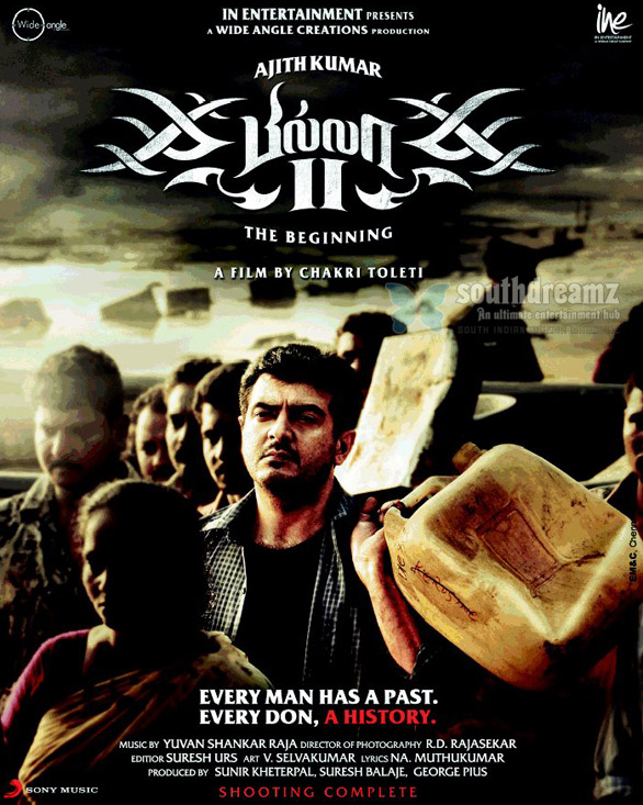 billa 2 poster A glimpse of Billa 2 songs starting today!