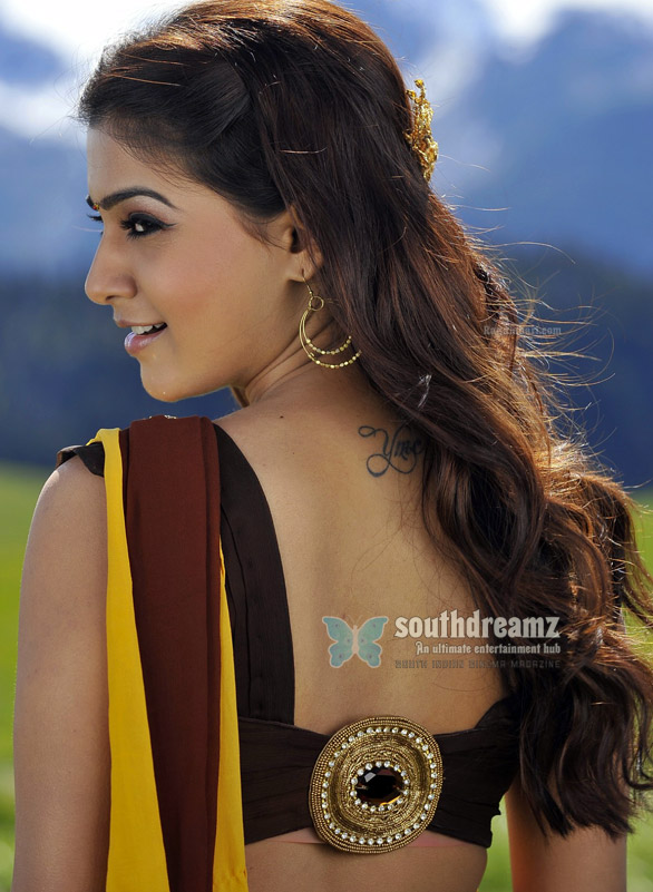 samantha half saree posters7 Samanthas Bollywood debut confirmed