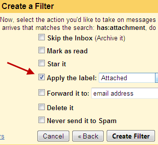 gmail filter to arrange email attachments Save Gmail attachments to Google Drive