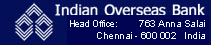 Indian Overseas Bank ATMs in Chennai, IN