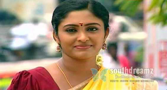 Tv Serial Actress Saree Saravanan Meenakshi In Vijay