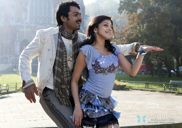 Saguni Movie karthi prenitha love making photos 586x413 Saguni   USA release