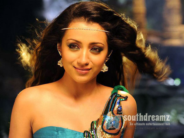 Trisha Hot in Dammu Stills 5 Trisha in a video game!