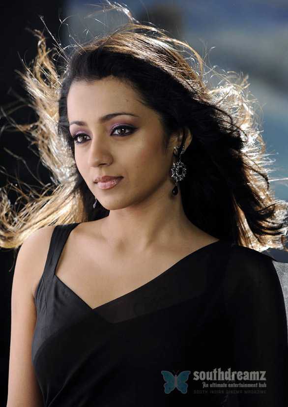 Trisha Trisha happy at work