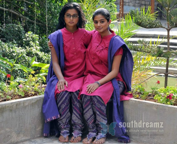 Priyamani plays Conjoined Twins first ever in Indian Cinema image Priyamanis Charulatha   Conjoined twins, horror