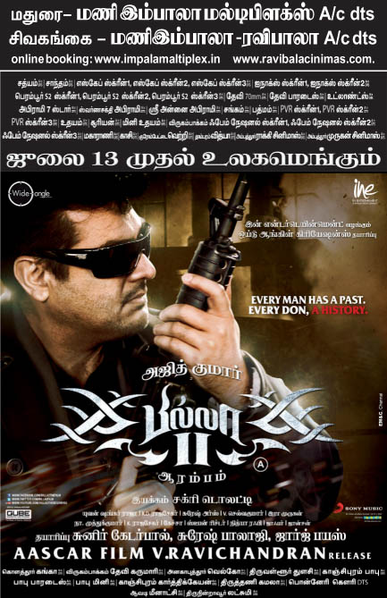 billa2 madurai Billa 2 ticket booking started