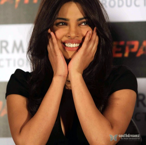 Priyanka Chopra At Agneepath Success Meet 15 586x583 Priyanka Chopra to shoot 'Zanjeer' introductory song with 100 men
