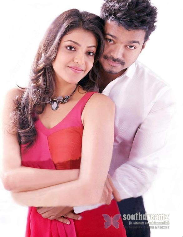 vijay kajal agarwal thuppaki photo shoot Vijay and Kajal Agarwal sizzle in Swiss!