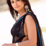 Anushka-New-Spicy-Black-Saree-Stills-2