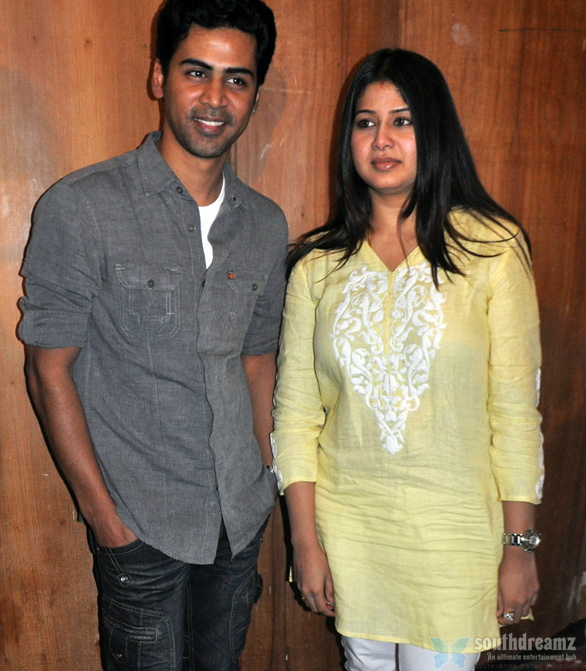 singer Krish and iterm girl Sangeetha Happy Birthday,Krish!