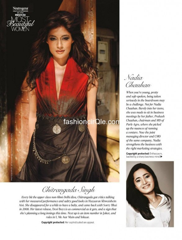 femina top 50 most beautiful women 2012 photos 18 586x773 Feminas Indias 50 Most Beautiful Women