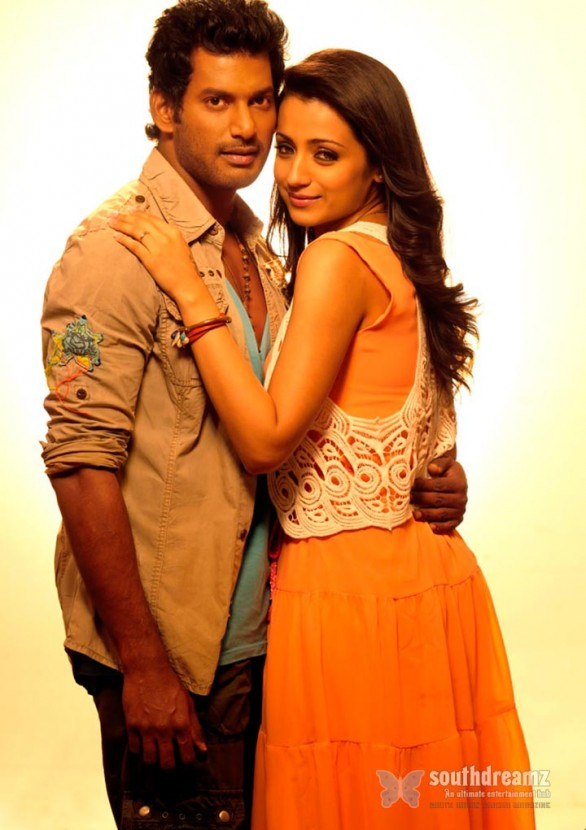 vishal and trisha in samar movie 8 586x830 Samar review