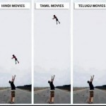 Funniest photo on Indian movie styles