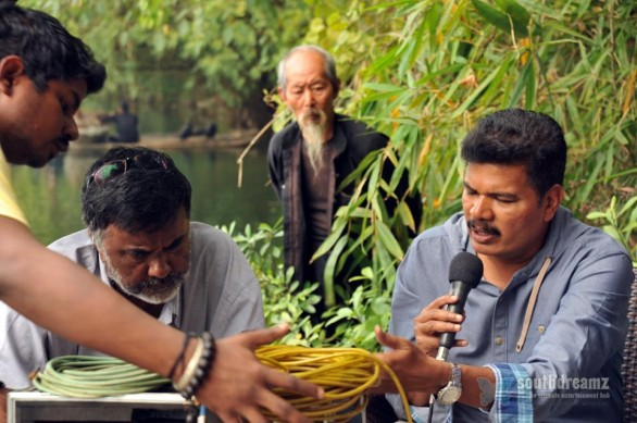 shankar-i-movie-vikram-amy-jackson-working-stills-1
