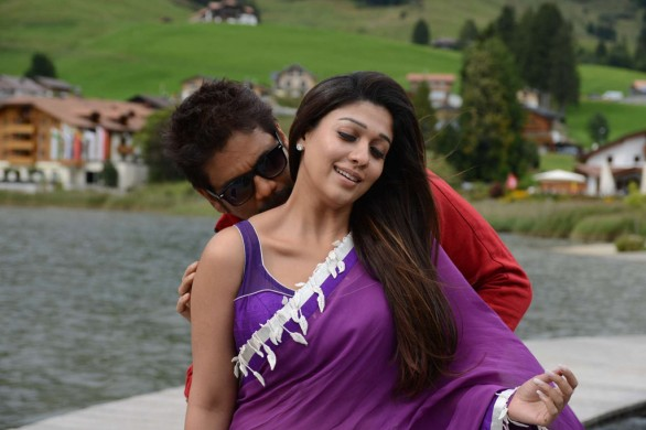 nagarjuna nayantara hot photos in greeku veerudu 3 586x390 Nayanatara Hot photos in Greeku Veerudu