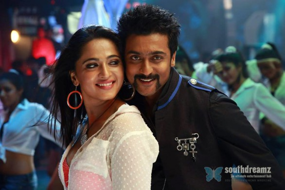singam 2 surya and anushka love making stills 586x390 Singam 2 review