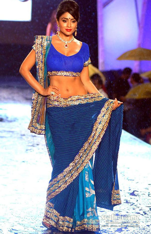 Blue-Shriya-Saran-hot