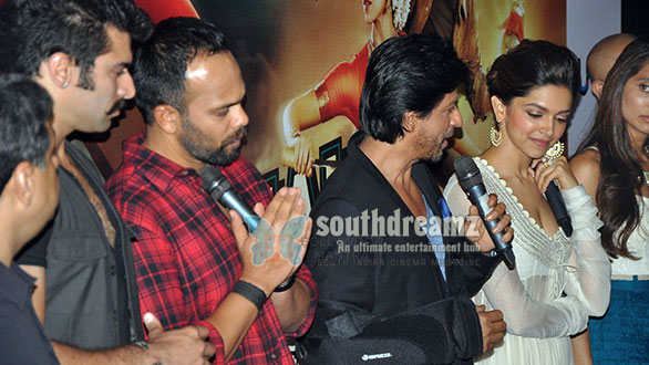 rohit shetty shahrukh khan deepika padukone Kollywood furious as Shahrukh Khans Chennai Express makes a mockery of Tamils
