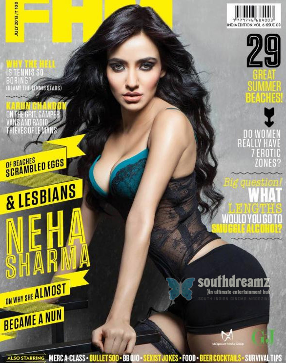 Neha-Sharma-Hot-Photo-Shoot-for-FHM-Magazine