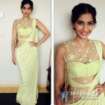 Sonam Kapoor's Layer treat in Green