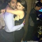 Hansika Motwani and Simbu's intimate moment