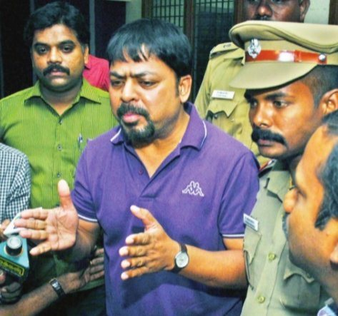 James-Vasanthan-being-arrested-by-Chennai-Police