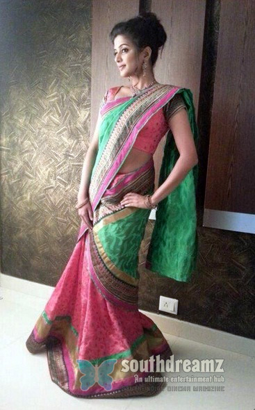 Saree-Look-for-Magazine-Cover-Page
