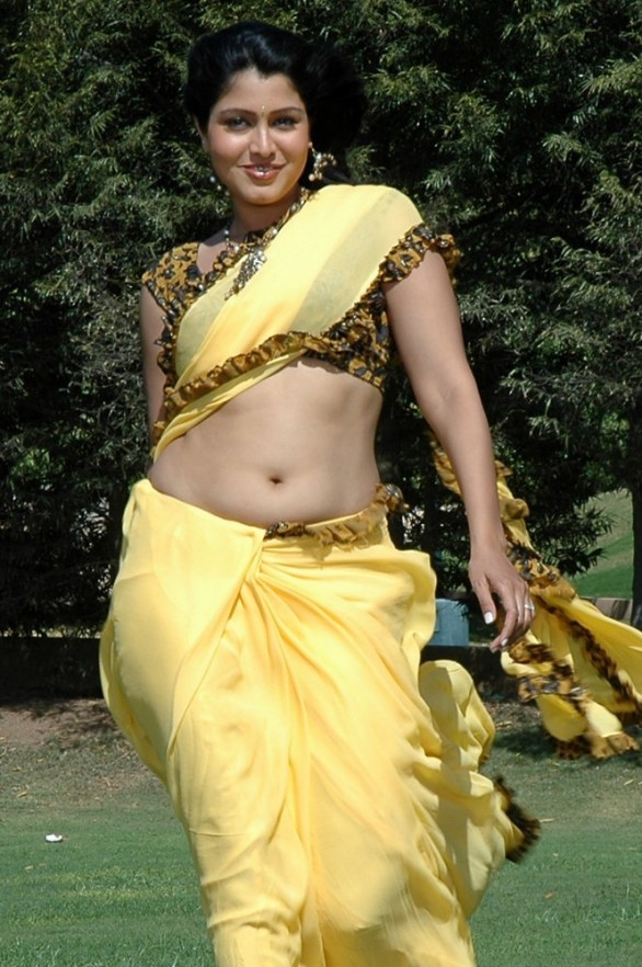 tamil-actress-sheryl-pinto-hot-navel-show-photos-in-saree-1