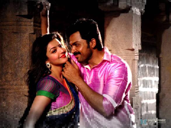 all in all azhagu raja yaarukkum sollaama official full song 586x438 All in All Azhagu Raja Review
