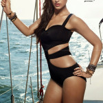 Ileana-raised-temperature-in-black-bikini