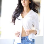 Meenakshi Dixit - Tempting show in unbuttoned shirt
