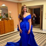 Sonam Kapoor goes Blue for Cannes Red Carpet