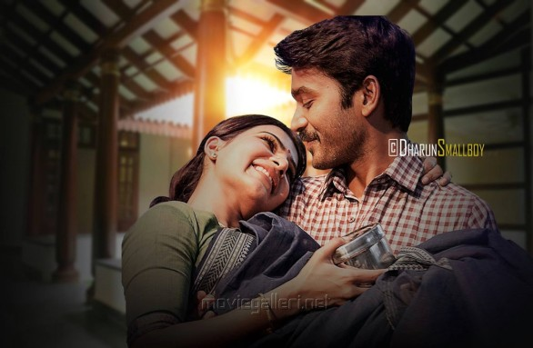 Samantha, Dhanush in Thanga Magan Movie Stills