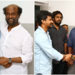 Kolamaavu Kokila team meets Superstar Rajnikanth