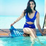 Kriti Sanon is setting the Internet on fire with her blue monokini